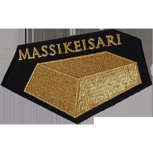 The Massikeisari - haalarimerkki