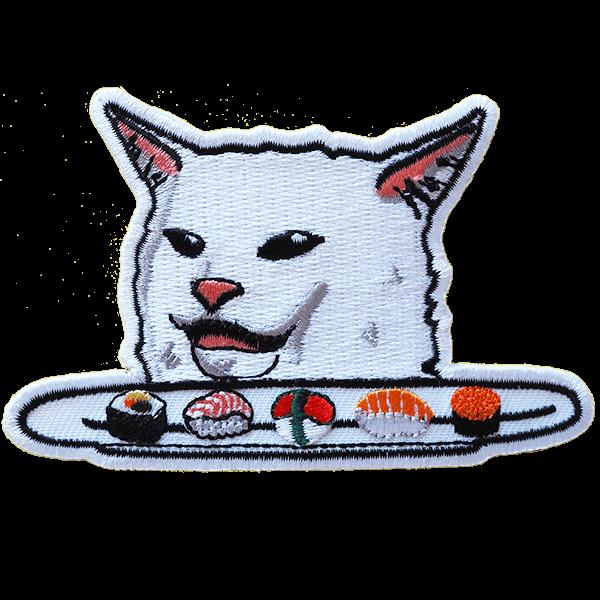 Smudge the Cat - haalarimerkki