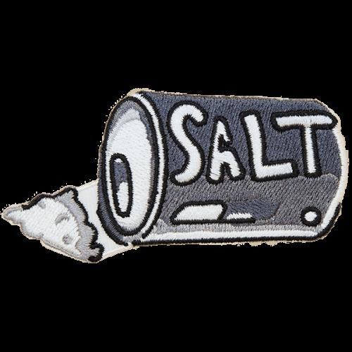 Salt-haalarimerkki