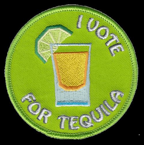 Tequila-haalarimerkki