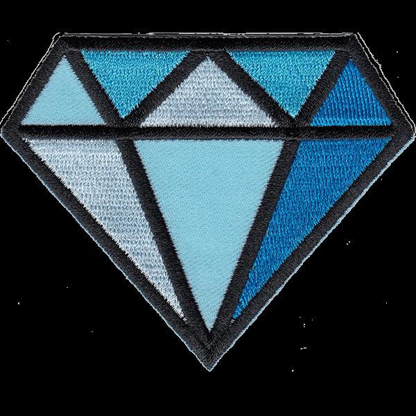 Diamond - haalarimerkki
