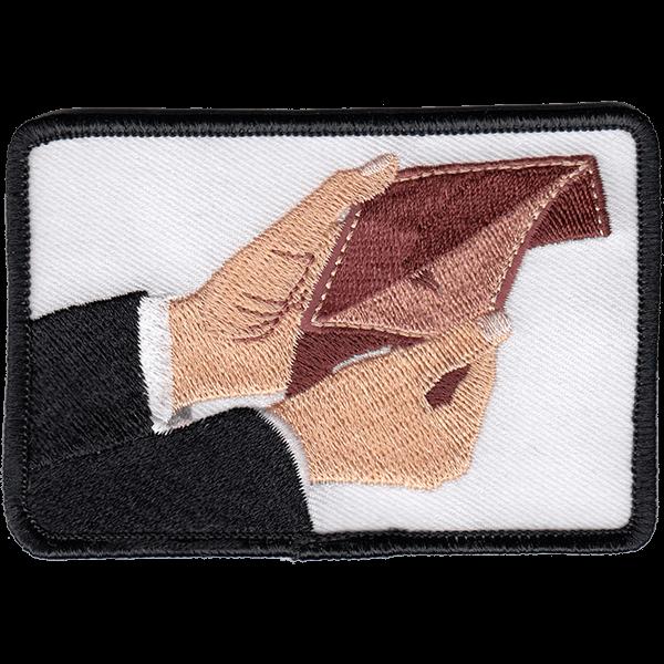 Empty wallet - haalarimerkki
