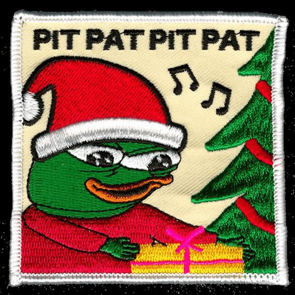 Joulu-Pepe haalarimerkki