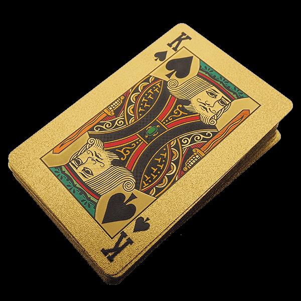 Korttipakka kultainen